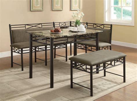 corner dining room furniture modern breakfast nook 3 piece corner dining set cushions