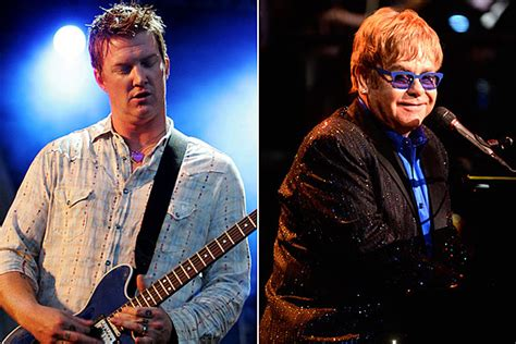elton john queens of the stone age song queens of the stone age land elton john for guest spot on