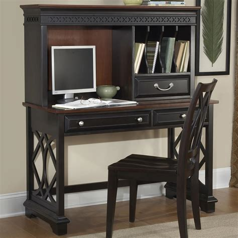 Desk With Small Hutch Small Writing Desk With Hutch Desks Classic Writing Desk With Small Storage Hutch In Walnut
