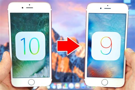how to uninstall ios 6 update how to downgrade from ios 10 to ios 9 on your iphone or