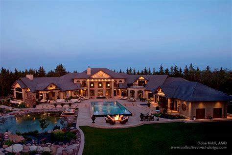 Canadian Floor Plans by Mega Mansion In Saskatchewan Canada Homes Of The Rich