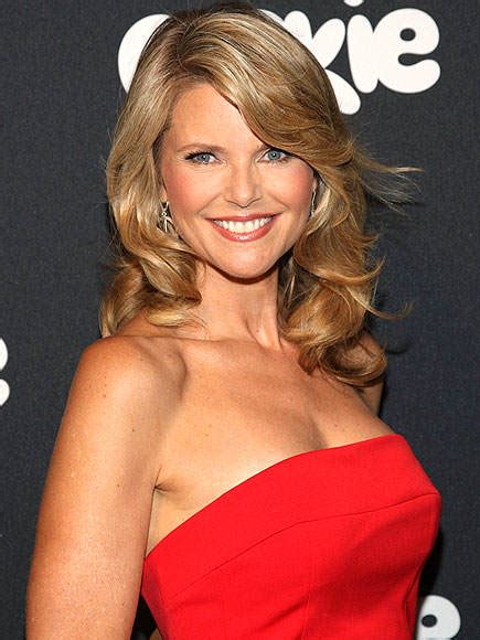 what nationalitiesare known for wiry hair christie brinkley measurements bra size height weight
