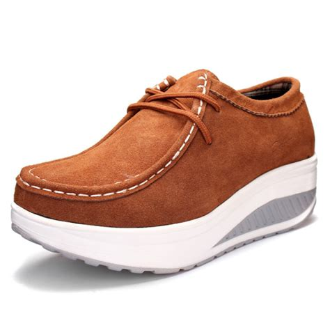 bottom shoes buy s casual suede shook shoes thick bottom shoes