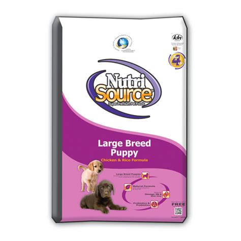 nutrisource puppy food nutri source large breed puppy chicken rice grateful pet