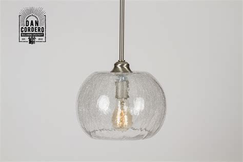 Crackle Pendant Light Fixture ? Bubble   Dan Cordero