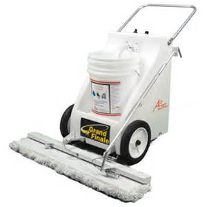Floor Wax Machine by Aztec Grand Finale Finish Chemical Applicator For Floors