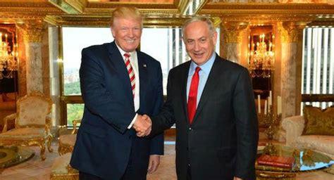 donald trump recognize jerusalem trump meets with netanyahu vows to recognize jerusalem as