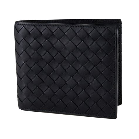 Wallet Bottega Black Ml099 bottega veneta black intrecciato wallet my luxury bargain