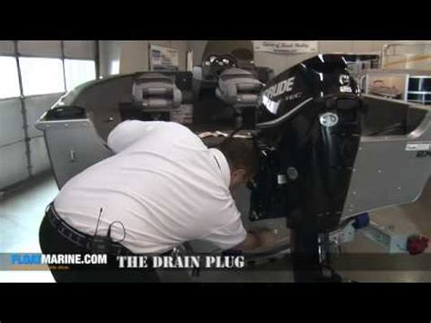four winns boat plug boat parts how to install and secure the drain plug