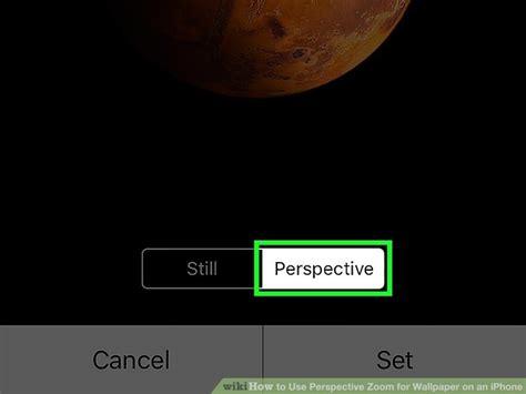 Perspective Zoom Wallpaper