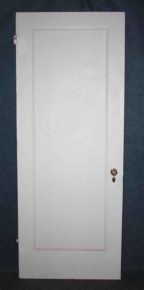 Single Panel Interior Doors White Solid Wood Single Panel Door Olde Things