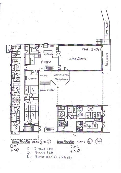layout of guest house layout of whitehall whitehall guesthouse queenscliff