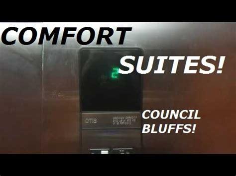 comfort suites council bluffs ia otis series 1 hydraulic elevator at comfort suites