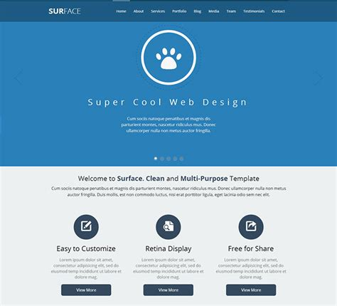 testimonial page template images