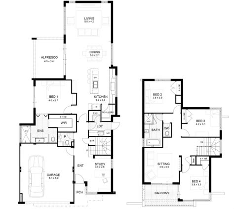 double story house floor plans double storey floor plans house floor plans