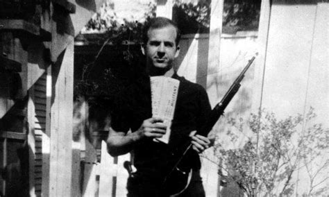 lee harvey oswald backyard photos backyard photo of lee harvey oswald is authentic study shows