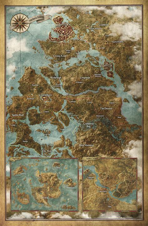 witcher 3 коллекция карт