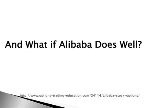 alibaba options alibaba stock options
