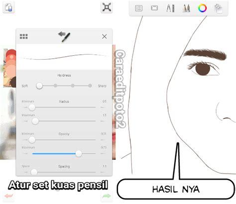 tutorial sketchbook di android tutorial edit foto vector vexel di aplikasi sketchbook android