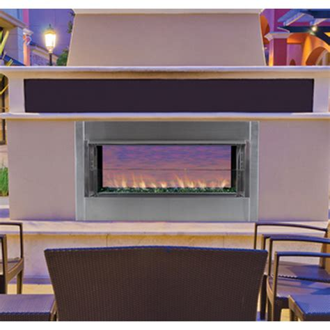 Outdoor Linear Gas Fireplace by Ihp Superior Vre4543 Linear Vent Free Outdoor Gas Fireplace