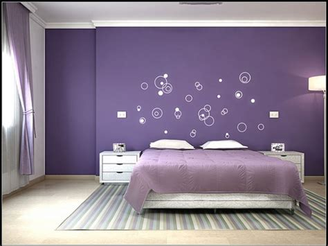 purple color schemes for bedrooms unique bedroom wall paint ideas decorate my house