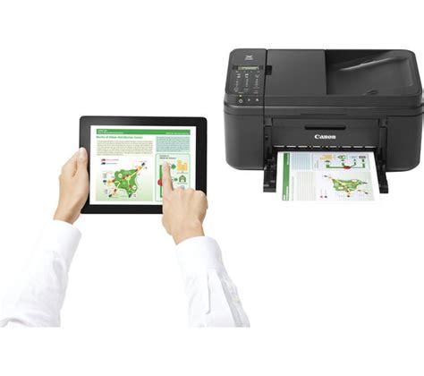 Printer Canon Tri In One canon pixma mx495 all in one wireless inkjet printer with fax black pg 545 cl 546 tri colour