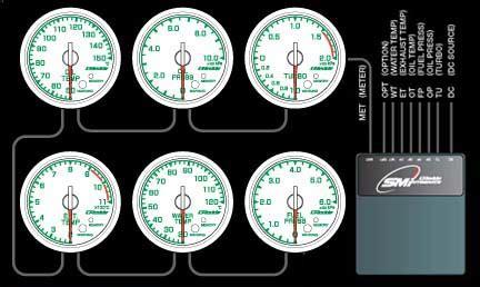 Greddy Gauges Link Meter xcceleration subaru wrx sti forester xt legacy gt baja