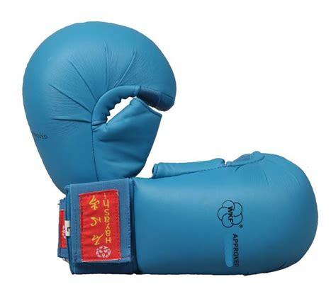 Venum Karate Glove Wkf Approved Blue karate sportheavy