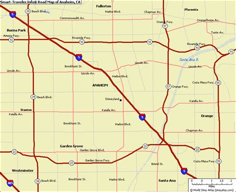 anaheim usa map anaheim ca images search