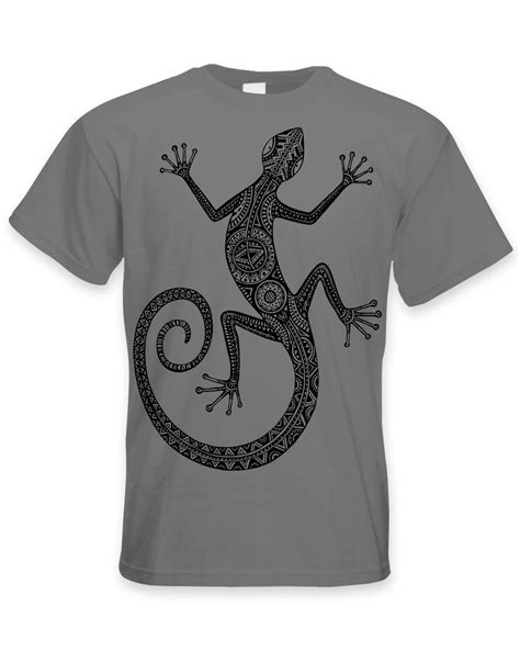 tribal tattoo t shirt tribal lizard design large print s t shirt