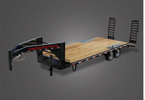 light duty gooseneck trailer regular 14000 gvwr flatbed gooseneck trailer