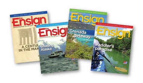 boating magazine change of address subscribe the ensign magazine
