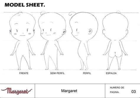 anime character template deviantart more like chibi anime character model sheet by