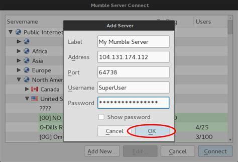 ubuntu configure mumble server how to install and configure mumble server murmur on