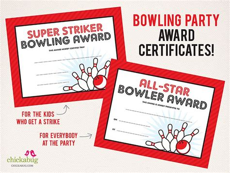 bowling certificate template 17 best ideas about bowling themes on
