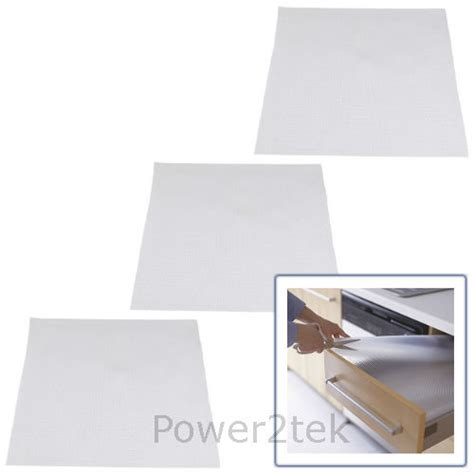 Shelf Liners Ikea by 3 X Ikea Variera Kitchen Cupboard Transparent Drawer Liner Non Slip Mat 150x50cm