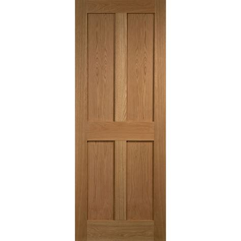 4 Panel Doors Interior raby 4 panel oak veneer interior door next day delivery