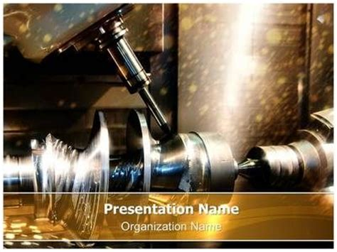Metalworking Powerpoint Themes And Milling On Pinterest Powerpoint Templates For Machines