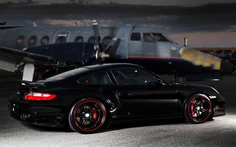 porsche supercar black porsche 911 turbo black super cars hd wallpapers
