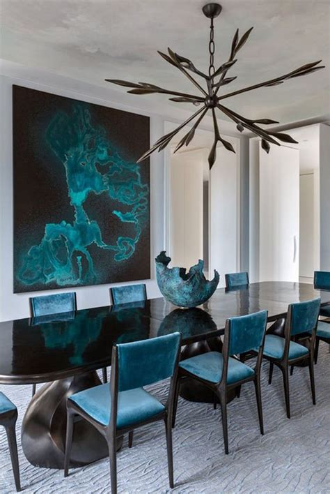 the modern dining room 10 gorgeous black dining tables for your modern dining room