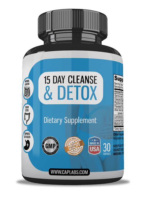 15 Day Detox Tea by 15 Day Cleanse Detox Clean And Labs