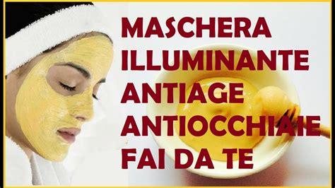 illuminante viso fai da te gold mask fai da te maschera viso illuminante antiage