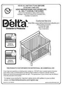 Delta Toddler Bed Directions Delta Children Canton 4 In 1 Convertible Crib Target