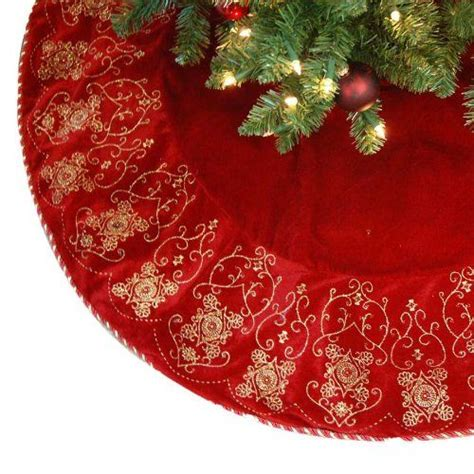 deep red tree skirts 148 best tree skirts images on tree skirts crafts