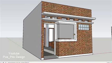 desain rumah murah  meter   lantai tapi nyaman