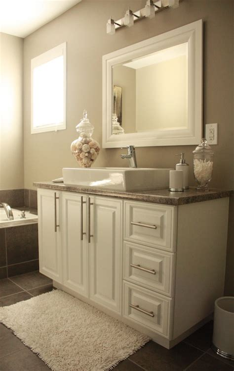 intellectual gray transitional bathroom sherwin williams intellectual gray
