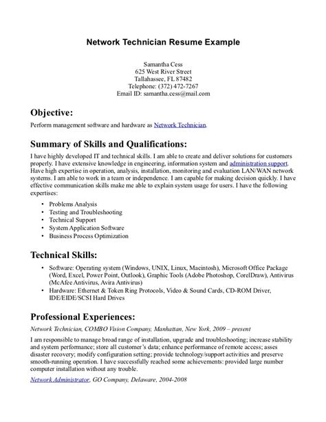 Resume Sle Pharmacy Technician Pharmacy Technician Resume Sle Writing 28 Images Noc Technician Resume Sales Technician