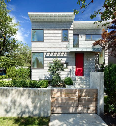 modern home design exles 13 exles of modern houses with wooden shingles