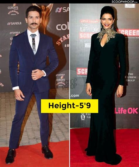bollywood actresses height in cm 18 bollywood pairs whose real height will definitely