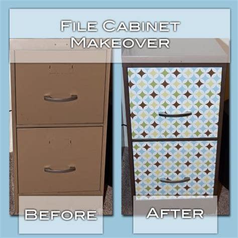 contact paper file cabinet spray paint ugly file cabinet to match brown in contact